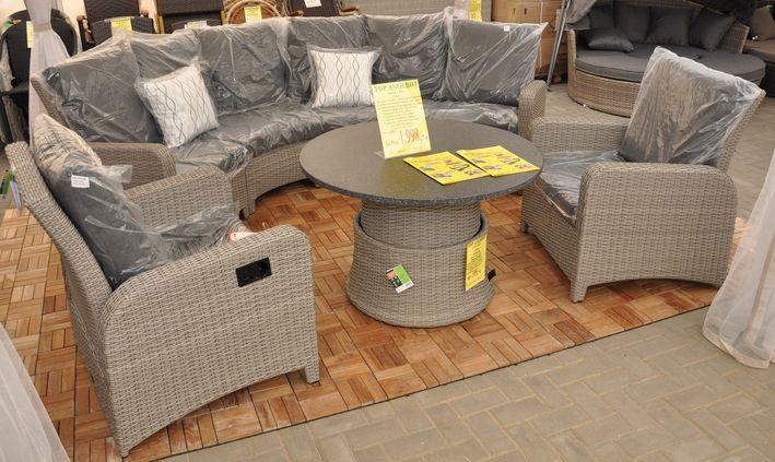 geflechtm bel lounge set lisboa. Black Bedroom Furniture Sets. Home Design Ideas